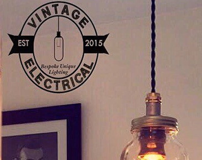 the kilner mason jam jar drop light cable fitting retro vintage lamps steampunk metal handcrafted