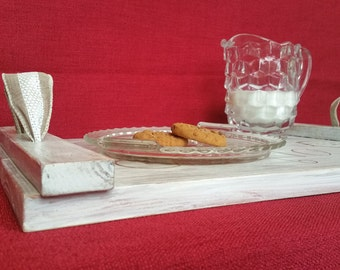 FREE SHIPPING--Rustic Christmas Serving Tray