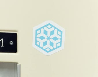 Mei Snowflake Small Sticker