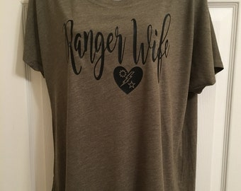 Ranger Wife / #RangerWife Women's Dolman Tee