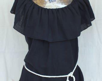 Women's blouse,Renaissance blouse, Rustic blouse, Pirate blouse victorian clothes medieval clothing