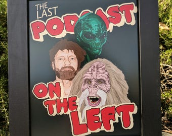 Print The Last Podcast on the Left