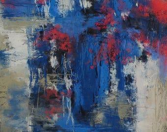 Speak  original abstract art