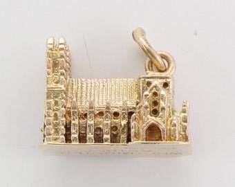 9ct Gold Westminster Abbey London charm