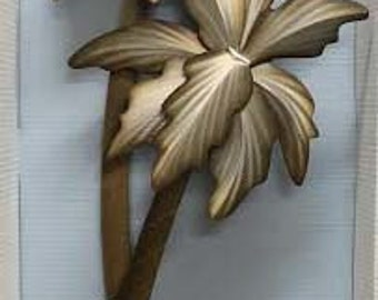Palm Tree Wall Sculpture - XIO103LW