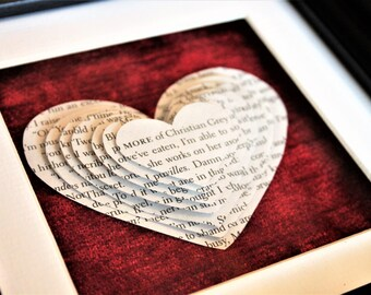 Fifty Shades of Grey - Framed Heart