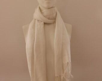 Plain Scarf (White)