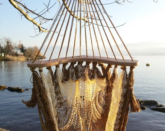 Handmade Mexican Mayan Chair Hammock for Kids