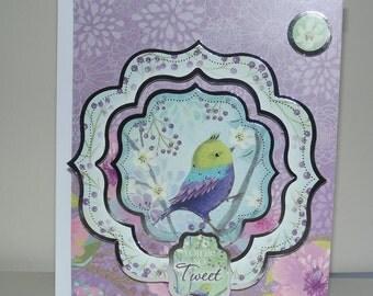 Your So Tweet Greetings Card