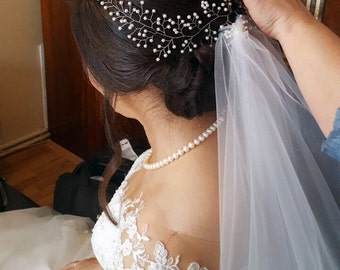 Bridal Hair Vine for Wedding