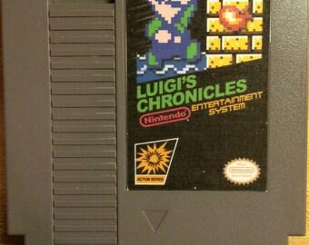 Luigi's Chronicles NES GAME