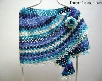 Crochet shawl wraps-women's clothing-accessories-handmade