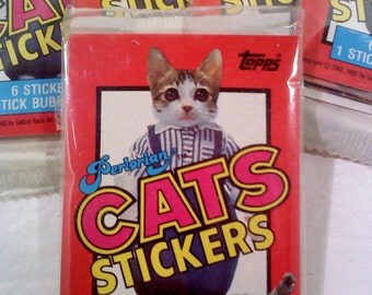 Perlorian CAT Trading Cards/Stickers, 1 Unopened Pack