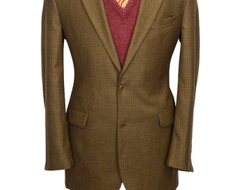40L Brooks Brothers 1818 Houndstooth Nicely Tailored Men's Blazer