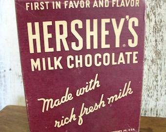 Vintage Hershey's Chocolate Box