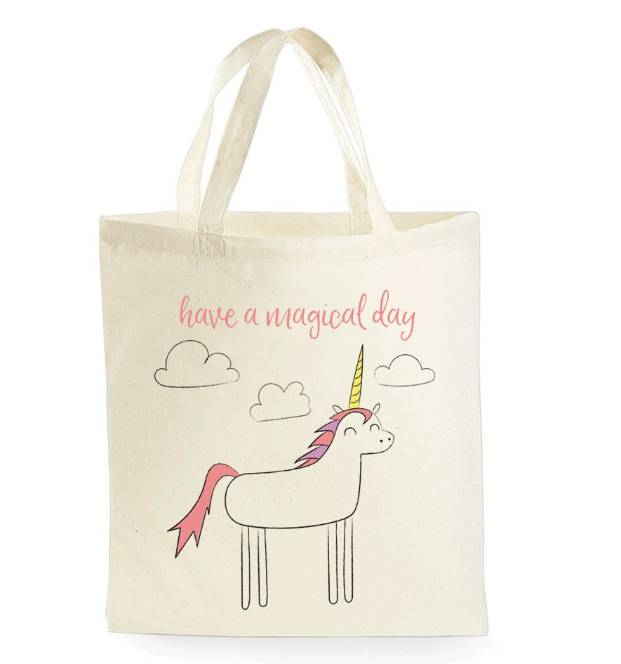 unicorn tote bag unicorn gifts unicorn bag unicorn