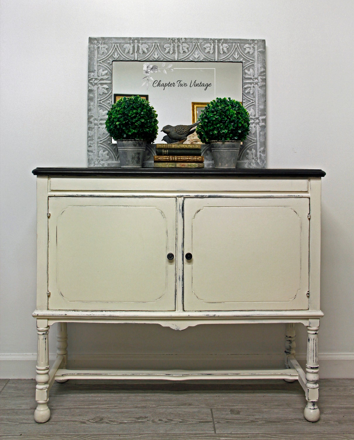 Hand Painted Kitchen Cabinets: SOLD Vintage Hand Painted Cabinet Liquor Cabinet Kitchen