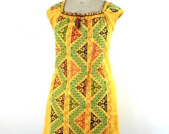 vintage tunic, embroidered tunic, vintage embroidered tunic, handmade tunic, tunic top, summer dress, vintage summer dress, tunic dress