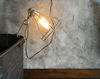 Vintage Wire Clamp Lighting