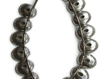 Metal Pointu's Necklace-By Bernard Bouhnik