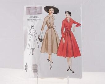 Vogue 2401, Vintage Vogue 1952, Vogue 2401 Size 18-22