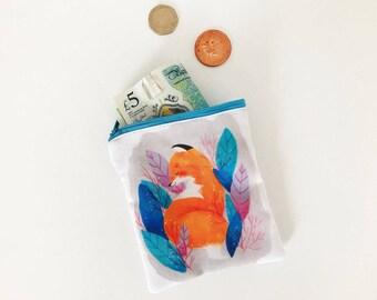 Foxy coin purse