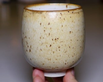 Cup/ tumbler, dirty porcelain, 270ml