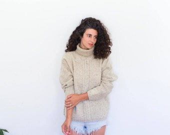 Grandpas Knit Wool Sweater