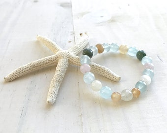 Fertility Mala Bead Bracelet, Natural Healing Bracelet, Bracelet For Women, Root And Sacral Chakra Healing, Match Your Mala Beads Bracelet