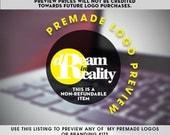 PreMade Logo Design Logo Preview Logo Watermark