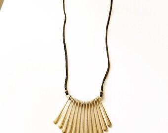 SunJewel collar statement necklace