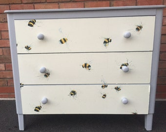 Refurbished  / Upcycled Chest of Drawers