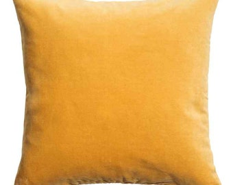 SUN KISSED Cotton Velvet Pillow
