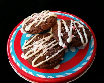 Chocolate Peppermint Cookies- 1 Dozen