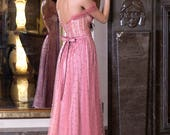 Prom ball gown Formal cocktail dress Elegant occasion dress Bridesmaid dress - Fabric Swatches