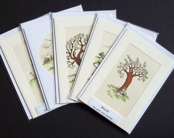 Five Joan Walsh Anglund  blank greetings or note cards