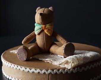 Pocket Teddy Bear, The Manhattan Toy Company Ltd// Gifts for Children.