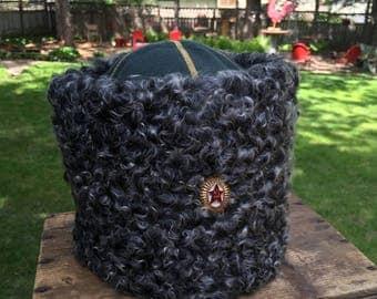 Vintage USSR Russian Military Winter Fur Hat