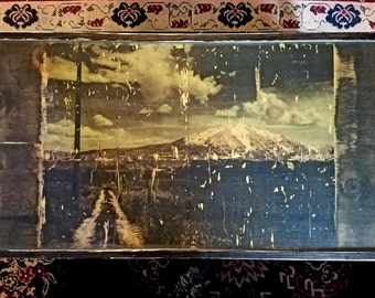 The 'Road Less Traveled' OOAK Coffee Table