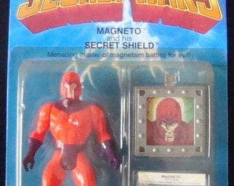 Magneto Vintage Secret Wars Action Figure 1984 In Package