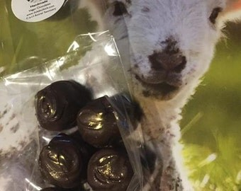 Vegan Salted Caramel Truffle Chocolates