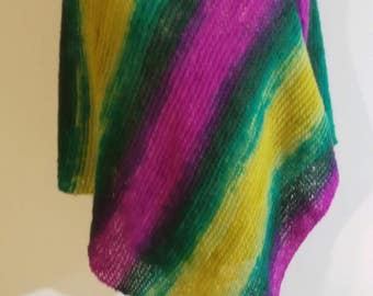 spring color poncho