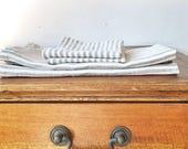 Custom Tablecloth - Striped Linen