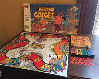 Vintage Inspector Gadget Board Game/ Vintage Milton Bradley Game
