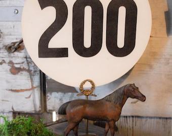 Vintage Wood Horse
