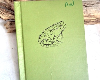 Bufo The Story of A Toad Book 1st Edition Children's Book 1954 Illustrated animal frog McClung Hardcover HC adventure tale Child Xmas Gift