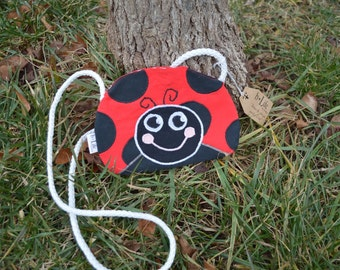 Kid's Ladybug Crossbody Bag, Handbag