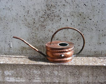 mid century copper watering can
