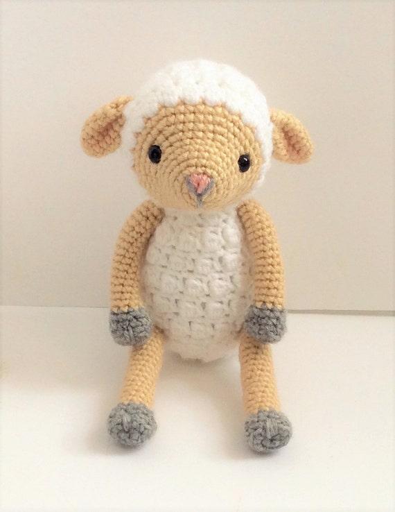 Amigurumi Sheep Tutorial : Crochet Lamb Pattern, Crochet Sheep Pattern, Crochet ...
