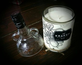 The Kraken soy candle